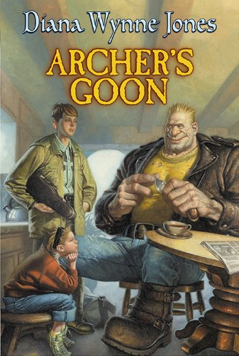 Book Diana Wynne Jones  - Archer's Goon