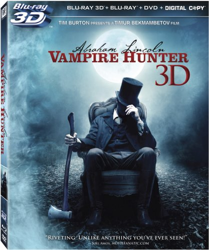 Abraham Lincoln: Vampire Hunter [Blu-ray 3D + Blu-ray + DVD + Digital Copy] DVD