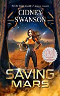 Book Cover: Saving Mars by Cidney Swanson