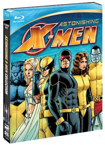 Astonishing X-Men Blu-ray Box cover