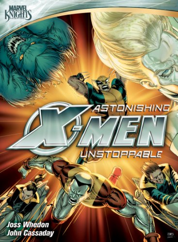 Astonishing X-Men: Unstoppable cover