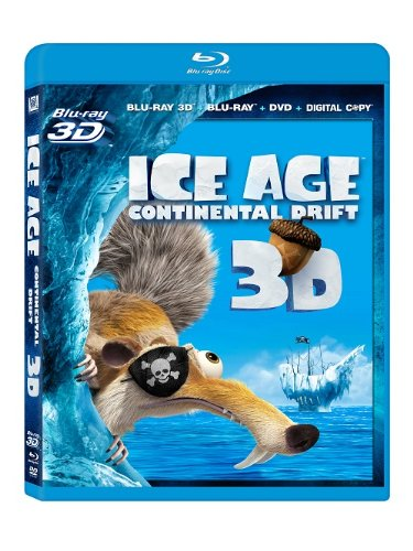 Ice Age: Continental Drift  DVD