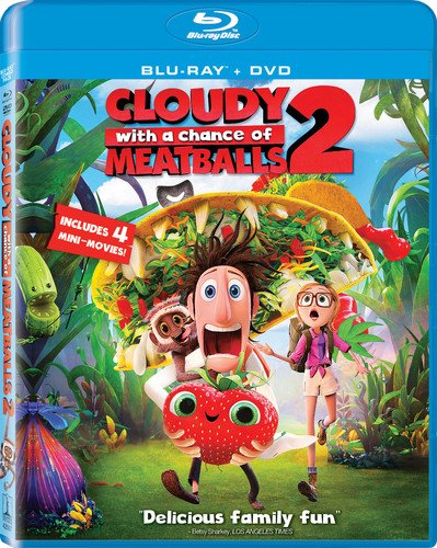 Cloudy with a Chance of Meatballs 2  DVD