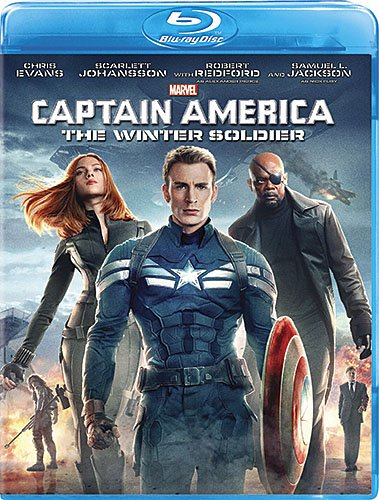 Captain America: The Winter Soldier cover