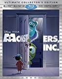Monsters, Inc.: 5-Disc Ultimate Collector's Edition Blu-ray 3D Combo cover art -- click to preorder