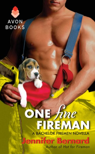 Book One Fine Fireman- the fireman has a puppy in his pants. A badly photoshopped puppy.
