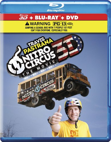 Nitro Circus: The Movie 3D [Blu-ray] DVD