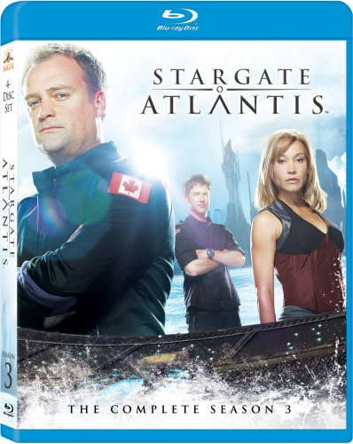 Stargate Atlantis: Season 3 [Blu-ray] DVD