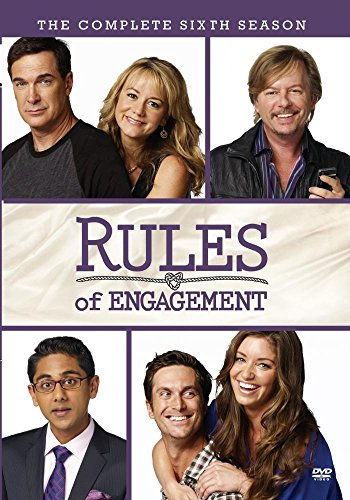 Rules of Engagement: The Complete Sixth Season DVD