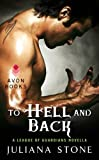 Book Cover To Hell and Back - this same guy looking at his flexed hands with a spindly angel tattoo on his shoulder