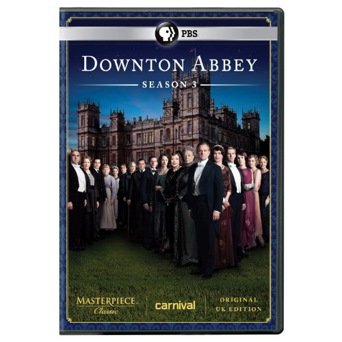 Masterpiece Classic: Downton Abbey Season 3 DVD  DVD