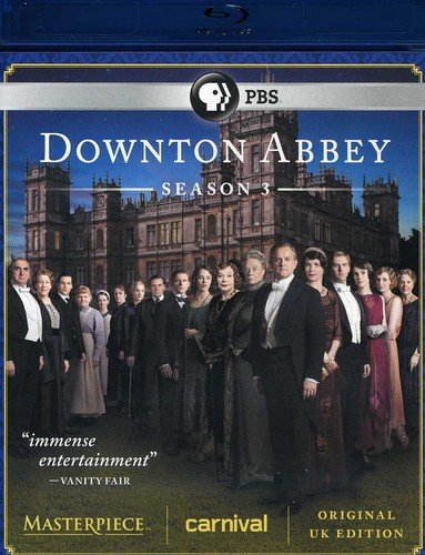 Masterpiece Classic: Downton Abbey Season 3 [Blu-ray]  DVD