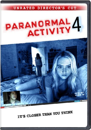 Paranormal Activity 4: Unrated Edition DVD