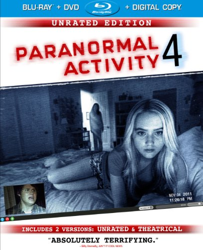 Paranormal Activity 4: Unrated Edition/Rated Version  DVD