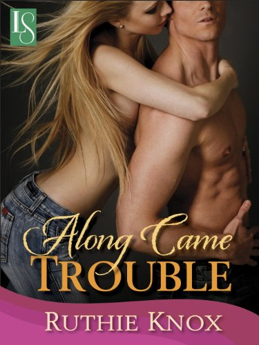 Book Along Came Trouble - and topless people given that they are on the cover