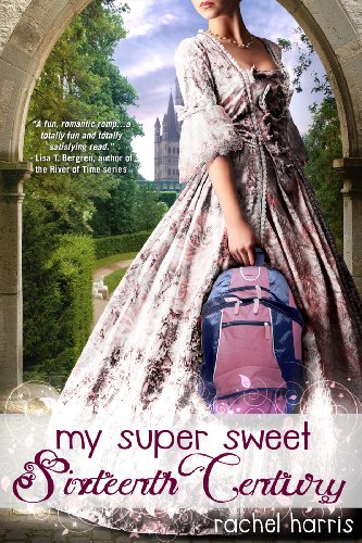 Book my Super Sweet Sixteenth century - a girl in a gown holding a purple backpack