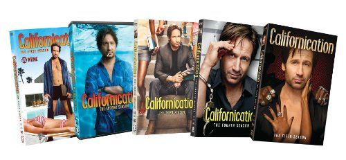 Californication: Seasons 1-5 DVD