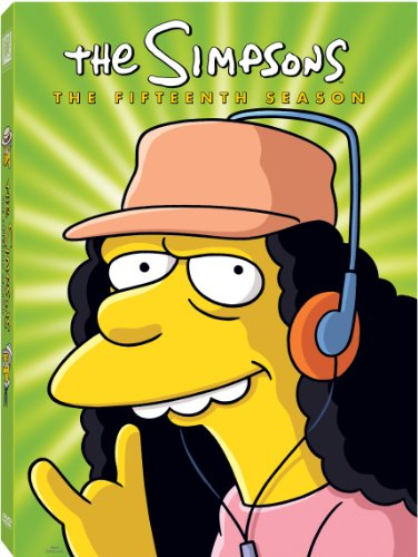 The Simpsons: The Complete Fifteenth Season DVD