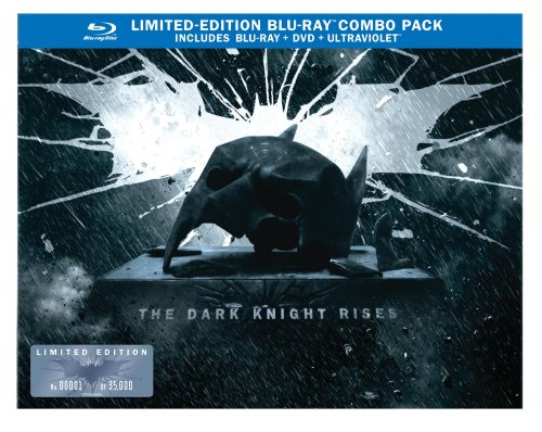 The Dark Knight Rises: Limited Edition Bat Cowl  DVD