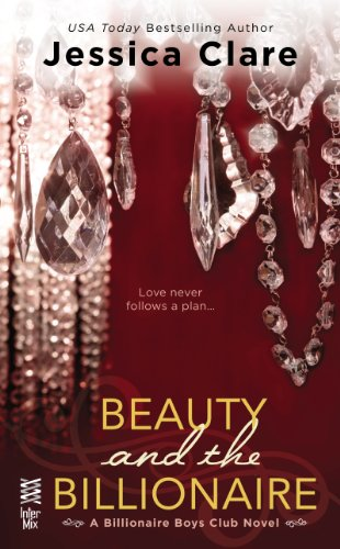 Book Beauty and the Billionaire - a close up of chandelier crystals