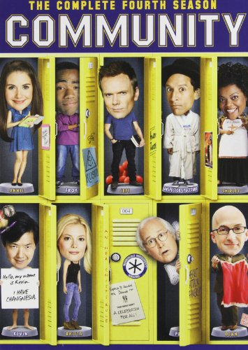 Community: The Complete Fourth Season DVD