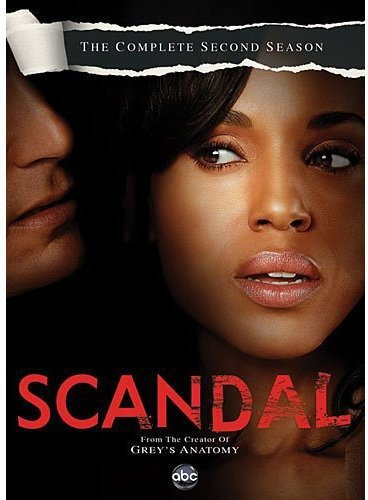Scandal: The Complete Second Season DVD