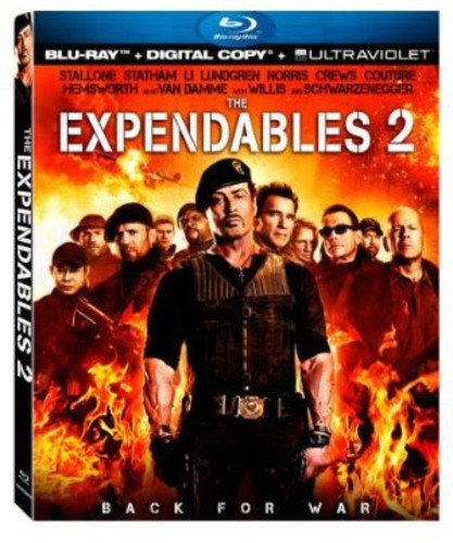 The Expendables 2 [Blu-ray] DVD