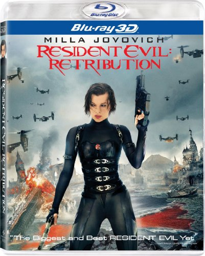 Resident Evil: Retribution 3D  DVD