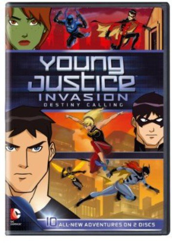 Young Justice Invasion Destiny Calling: Season 2 DVD