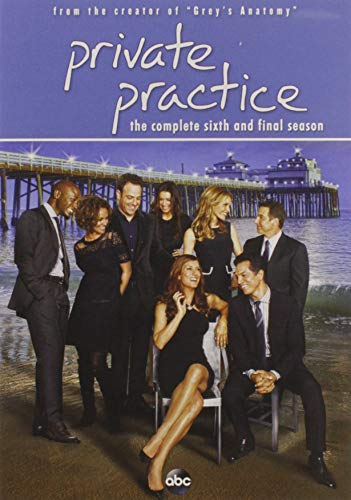Private Practice: The Complete Sixth Season DVD