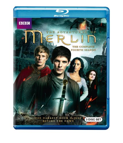 Merlin: The Complete Fourth Season [Blu-ray] DVD