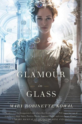 Book Glamour in Glass