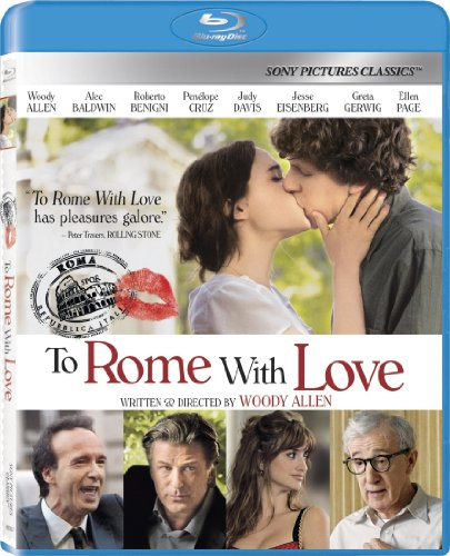 To Rome with Love [Blu-ray] DVD