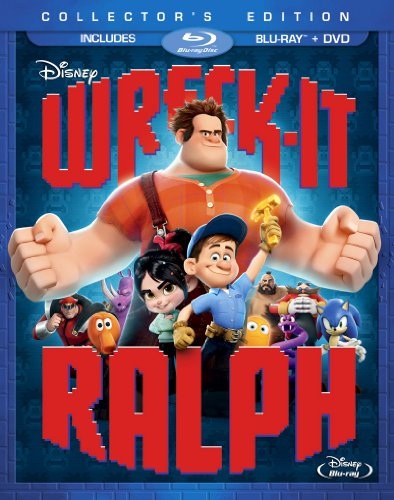 Wreck-It Ralph (2-disc Blu-ray with DVD) cover