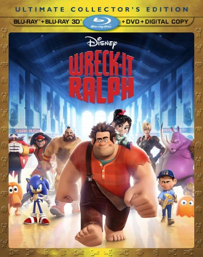 Wreck-It Ralph (4-disc Blu-ray 3D with digital copy) cover