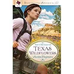 Texas Wildflowers: Four-in-One Collection (Romancing America)