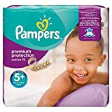Product Image of Pampers Premium Protection Active Fit Nappies, Monthly...