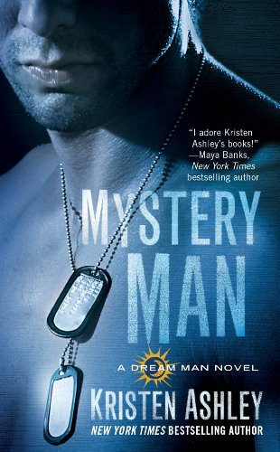 Book Mystery Man - close up of grey tone dude with dog tags