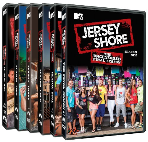 Jersey Shore: The Complete Series Pack DVD