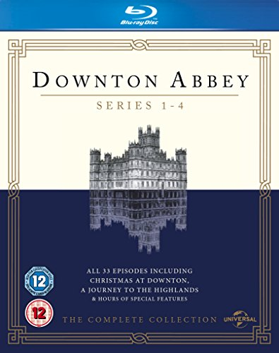 Downton Abbey-Series 1-4 [Blu-ray] DVD