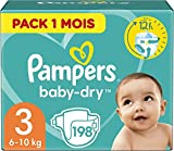 Product Image of Pampers Baby-Dry Nappies Monthly Saving Pack - Size 3, Pack...