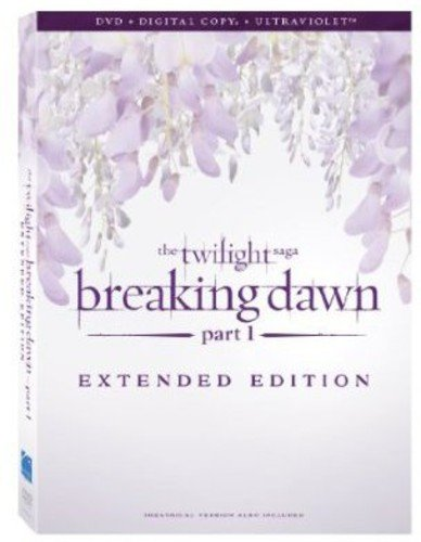 The Twilight Saga: Breaking Dawn Part 1 Extended Version [DVD + Digital Copy + UltraViolet] DVD