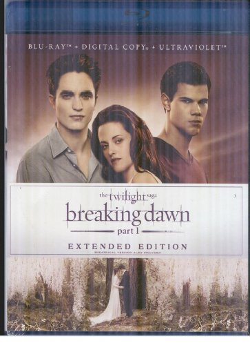 The Twilight Saga: Breaking Dawn Part 1 Extended Version [Blu-ray + Digital Copy + UltraViolet] DVD