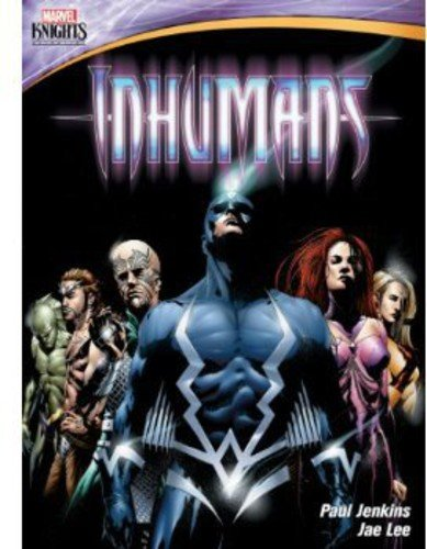 Inhumans cover