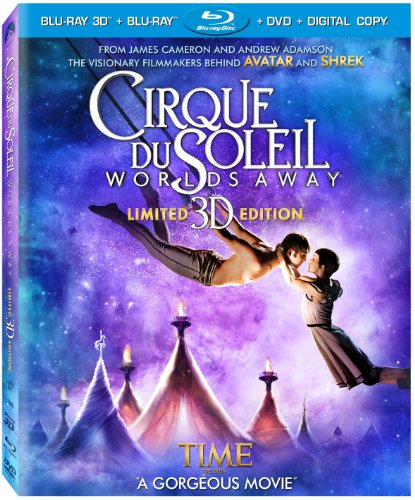 Cirque Du Soleil - Worlds Away  DVD