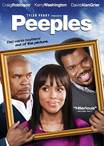 Tyler Perry Presents Peeples DVD