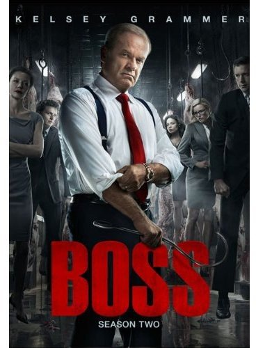 Boss: Season 2 DVD