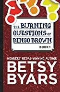 Book Cover: The Burning Questions of Bingo Brown by Betsy Byars