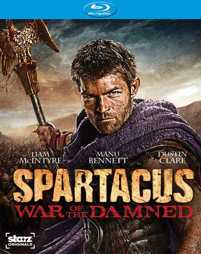 Spartacus: War of the Damned - The Complete Third Season [Blu-ray] DVD