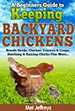 Free Kindle Book : A Beginners Guide to Keeping Backyard Chickens - Breeds Guide, Chicken Tractors & Coops, Hatching & Raising Chicks Plus More... (Simple Living)
